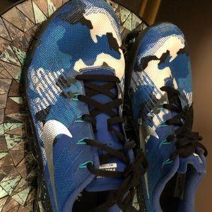Custom size 8.5 women's Nike metcons